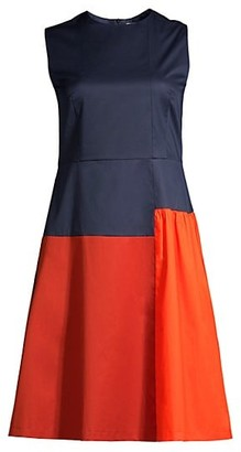 HUGO BOSS Dolouri Bicolor Dress