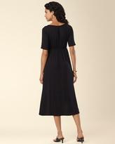 Soma Intimates Hi Low Dress Black