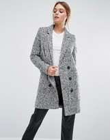 Y.A.S Dalay Tailored Coat In Tweed