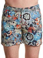 Onia Calder Comic Floral Boardshorts