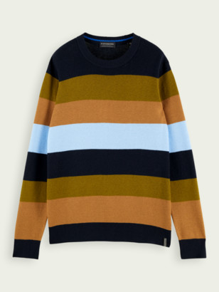 Scotch & Soda Classic wool cotton-blend pullover | Men