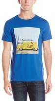 HUGO BOSS BOSS Orange Men's Tavey 4 Washed Pima Cotton Tee Shirt