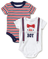Baby Starters Baby Boys 3-12 Months All American Boy Bodysuits Two-Pack