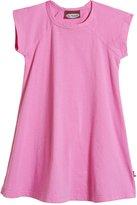 City Threads Jersey Raglan Dress (Toddler/Kid) - Medium Pink-10