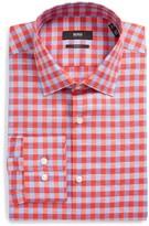 BOSS Men's Jenno Slim Fit Check Dress Shirt