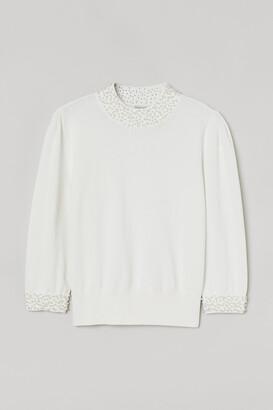 H&M Beaded jumper