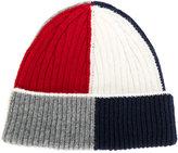 Thom Browne colour block hat