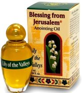 Lily of the valleys - Blessing from Jerusalem Anointing oil - 10ml ( .34 fl. oz. ) by Bethlehem Gifts TM