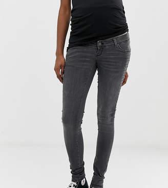 Mama Licious Mama.Licious Mamalicious slim jeans-Grey