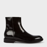 Paul Smith Men's Black Calf Leather 'Sullivan' Boots