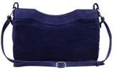 Balenciaga Classic Baby Daim Suede Hip Bag, Blue
