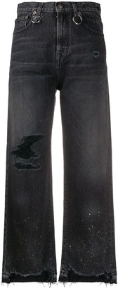R 13 Camille wide-leg jeans