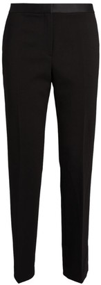 Theory Tailored Slim Crop Tuxedo Trousers