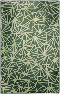 Brayden Studio Balch Forest Green Area Rug Rug Size: Rectangle 5' x 8'