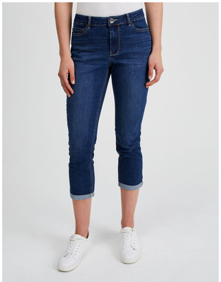 Regatta Essential Denim Crop Jean - Dark Wash