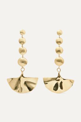 ARIANA BOUSSARD-REIFEL Kabuki Gold-tone Earrings - one size