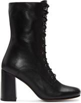 Maryam Nassir Zadeh Black Emanuelle Boots