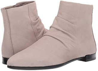 Ecco Shape Pointy Toe Ankle Boot (Grey Rose) Women's Boots