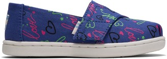 Toms Purple Electric Love Glow In The Dark Print Tiny Classics