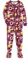 Tea Collection Infant Girl's Kirameki Fitted One-Piece Pajamas