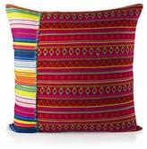 Karma Living Hand Loomed Mamasita Stripes 20 x 20 Pillow - Multi