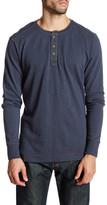 Jeremiah Finn Slub Henley Long Sleeve Shirt