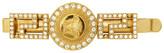 Versace Gold Crystal Empire Medusa Barette