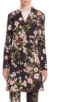 Giambattista Valli Floral Printed Coat