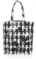 Karl Lagerfeld Camo-print coated-canvas tote