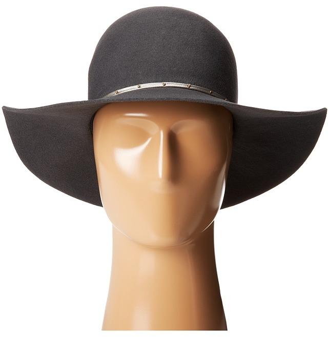 Hat Attack Wool Felt Round Crown Floppy