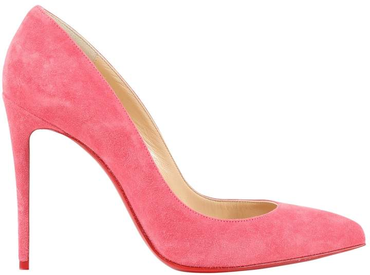 brand new 242fd a5a66 Pigalle Pink Suede Heels