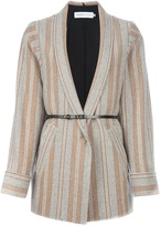 See by Chloe tonal striped jacket