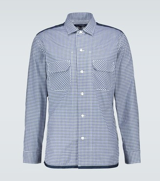 Junya Watanabe Checked patchwork shirt