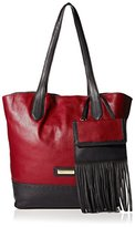 Isabella Fiore Women's Raven Tote, Rouge