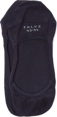 Falke Cool 24/7 Technical Cotton Blend Trainer Socks - Mens - Navy