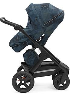 Stokke Trailz Black Terrain Limited Edition Freedom Stroller Chassis