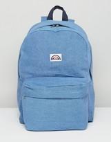 Wrangler Wranglar Logo Denim Backpack