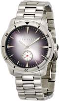 Ted Baker Men's TE3050 Dress Sport Dial Silver Case and Bracelet Watch