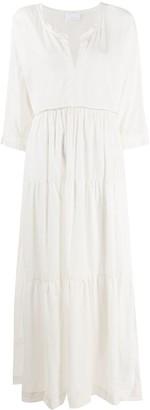 P.A.R.O.S.H. Smock Maxi Dress
