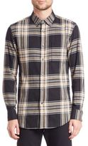 Public School Samai Long Sleeve Plaid Shirt