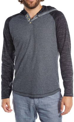 Px Long Sleeve Hooded Henley