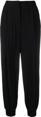 Erika Cavallini High-Waisted Tapered Trousers