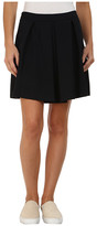 Lacoste Wool Pique A-Line Skirt