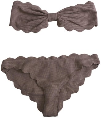 Marysia Swim Beige Cotton - elasthane Swimwear for Women
