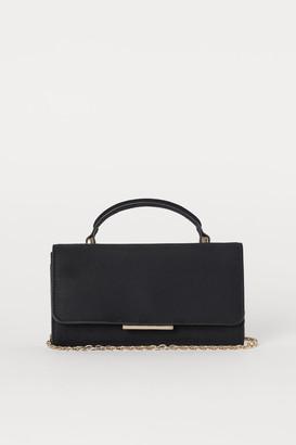 H&M Small Bag with Shoulder Strap - Black