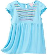 Design History Sequin Cap Sleeve Top (Toddler & Little Girls)