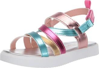 Carter's Girls' Blanca Hook and Loop Sandal