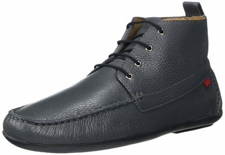 Marc Joseph New York Men's Leather Luxury Driving Style Ankle Boot with Laces