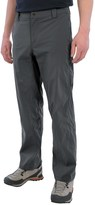 White Sierra Traveler Pants - Stretch Nylon (For Men)