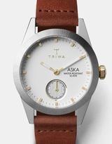 Triwa Snow Aska Brown Classic Super Slim